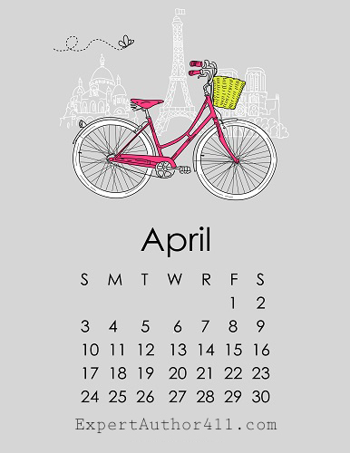 April 2016 Notable Dates for Expert Authors