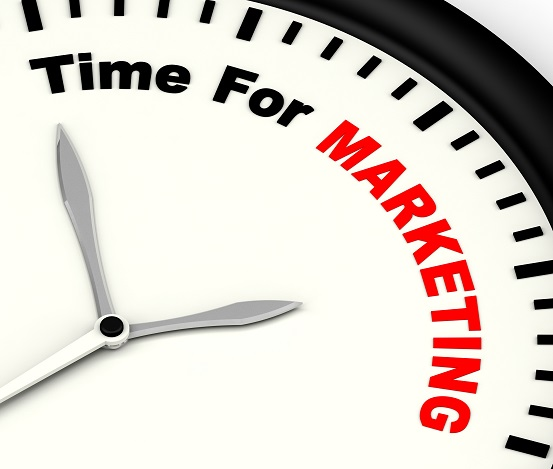 Time For Marketing clock